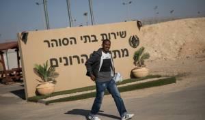 מבקש מקלט משתחרר מ'סהרונים' - נתניהו ודרעי: לפתוח מחדש מתקני מעצר