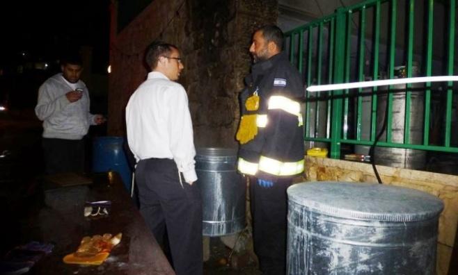 נס בהגעלת כלים: בלון גז התפוצץ