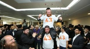 המונים בחתונת איש החסד ישראל ירט • צפו