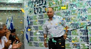 נפתלי בנט חוגג ניצחון, אמש - צפו: 'הבית היהודי' חגגו את המהפך