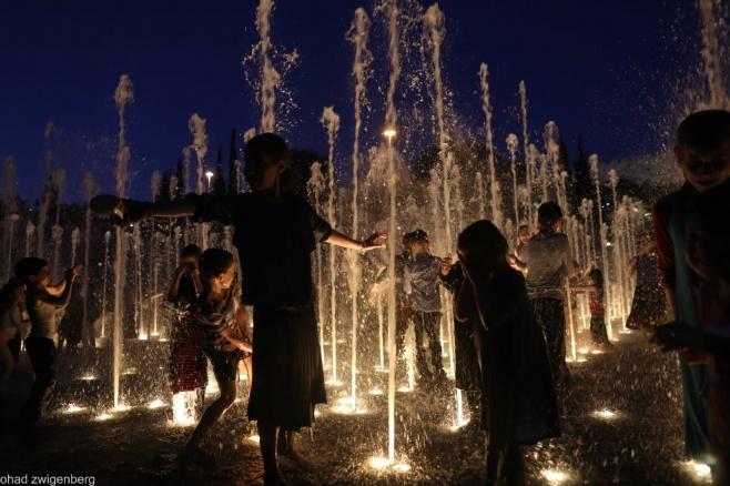 גלריה רטובה: קפצו למים של פארק טדי