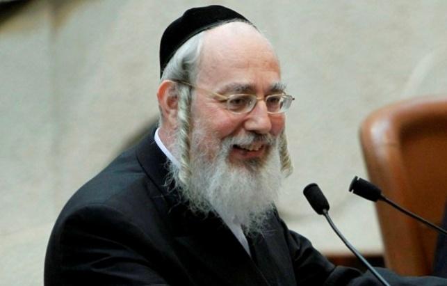 """ח""""כ ישראל אייכלר (צילום: פלאש 90)"""