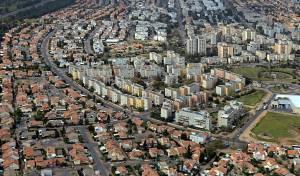 תמונה אווירית של העיר