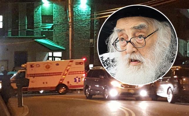 הרבי מויזנ'יץ מונסי על רקע הפינוי לבית החולים