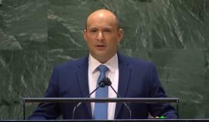 """בנט בנאומו בעצרת האו""""ם"""