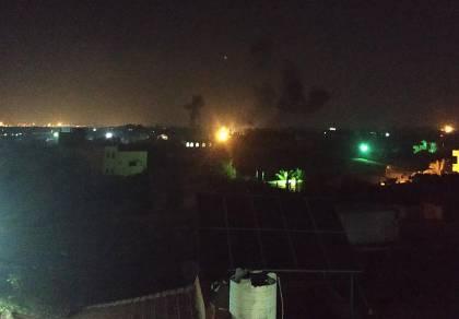 חיל האוויר תקף יעדי טרור במחנה צבאי של החמאס בעזה
