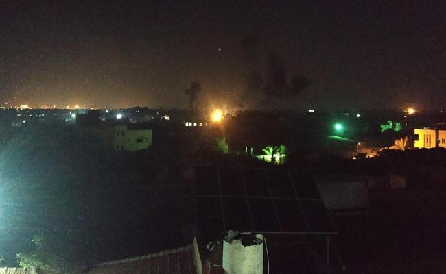 הסלמה בדרום: חיל האוויר תקף מחנה של החמאס בעזה