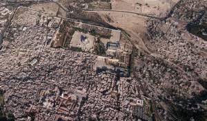 העיר העתיקה, 1990 [במרכז: הכותל]