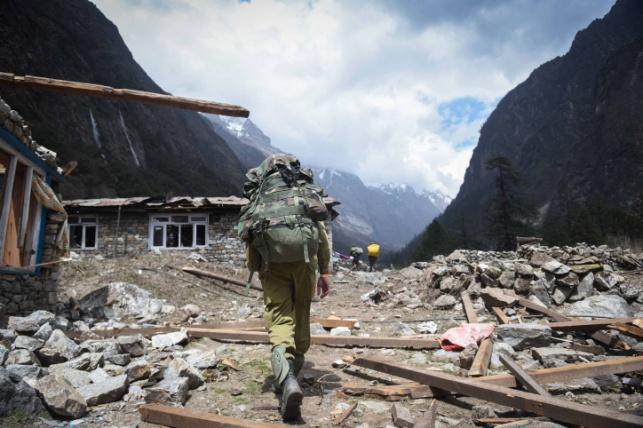 רעידת אדמה בנפאל. ארכיון