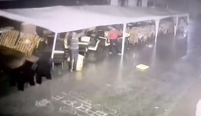 אוקראינה: רוח העיפה אדם 10 מטר