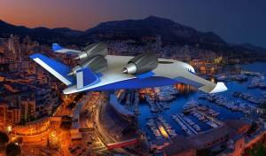 הדמיית המטוס