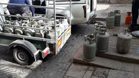 המשטרה החרימה כ-30 בלוני גז 'פיראטיים'