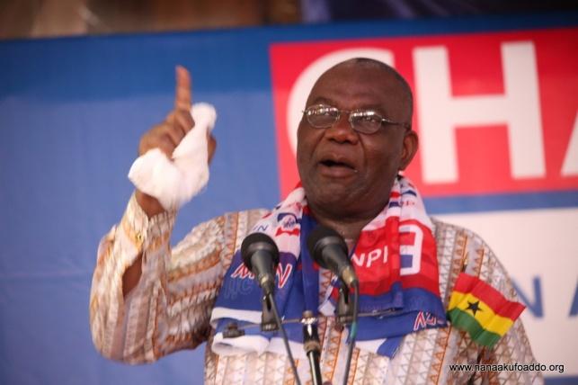 נשיא גאנה, ננה אקופו אדו