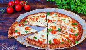 פיצה מרגריטה עסיסית ללא גלוטן