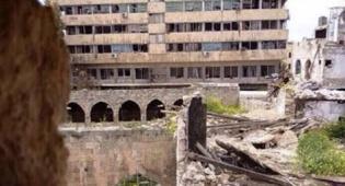 בית הכנסת הגדול החרב בחאלב