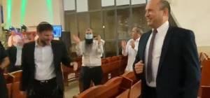"""'יום ירושלים': בנט וסמוטריץ' ב""""ריקוד שמח"""""""