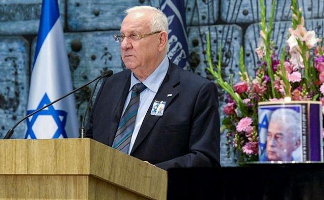 """נשיא המדינה ראובן יבלין בטקס """"נר יצחק"""", היום"""