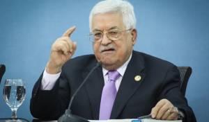 """אבו מאזן: """"בישראל אין פרטנר""""."""