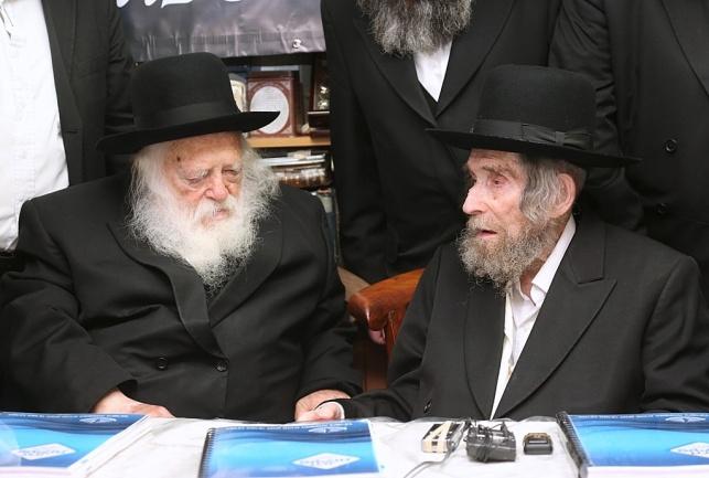 צפו: גדולי ישראל התכנסו בבני ברק