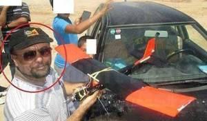 מהנדס החמאס, לצד הרכב שבו חוסל