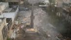 בלב בני ברק: בית המדרש הוותיק נהרס