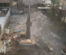 בלב בני ברק: המבנה נהרס עבור בית הכנסת