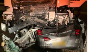 זירת התאונה בגליל
