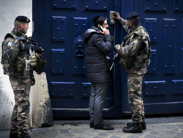 כוחות משטרה בצרפת