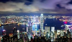 """וידאו: עב""""ם נצפה בשמי  הונג קונג?"""