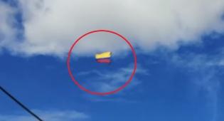 צפו: חיילים אחזו בדגל - וצנחו מגובה למותם