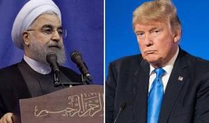"""נשיא ארה""""ב טראמם ונשיא איראן רוחאני"""