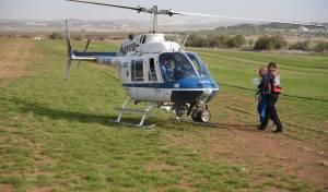 צפו: טייסת הכיבוי המשטרתית בפעולה