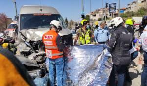 הרוגה, פצועה בינוני ו-8 נפגעים קל בתאונה