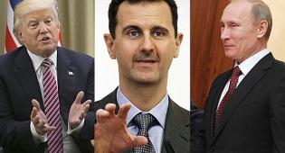 """פוטין, אסד וטראמפ - ארה""""ב מאשימה: """"ידיה של רוסיה מגואלות בדם של ילדים"""""""