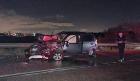 היועץ החרדי יצא מהתאונה הקשה בלי פגע