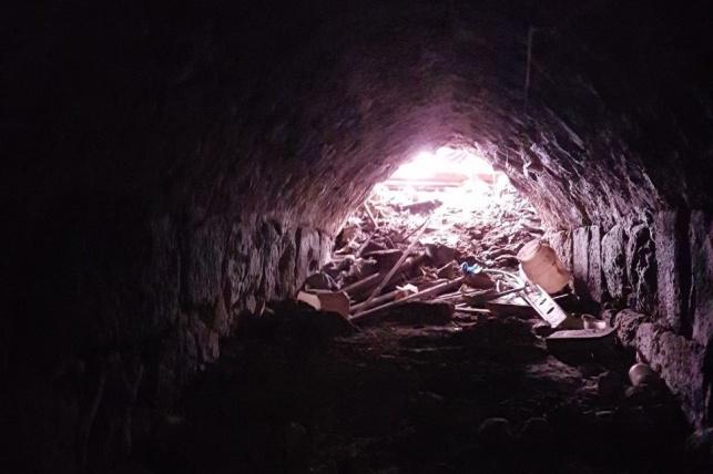 השיטפונות שהרסו את המערה ההיסטורית