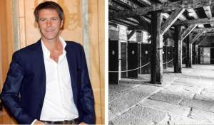 מימין: מחנה השמדה נאצי באיטליה; משמאל: אימנואלה פיליברטו