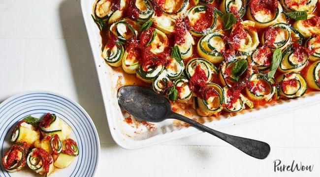מאפה זיטי איטלקי בגרסה קלילה ויפהפייה - מאפה זיטי איטלקי בגרסה קלילה ויפהפייה