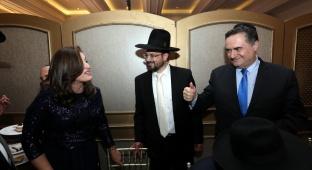 צמרת המדינה בחתונת בת יצחק ורבקה רביץ