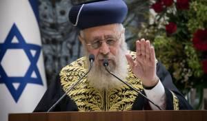 """הראשל""""צ: """"הרפורמים הרסו את היהדות"""""""