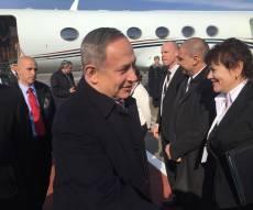 צפו: ראש הממשלה נתניהו נחת במוסקבה