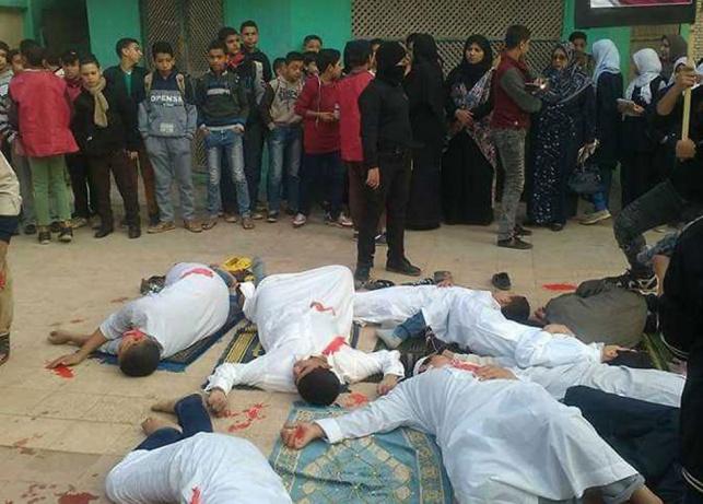 """בית ספר שיחזר את הטבח; """"ישראל אשמה"""""""