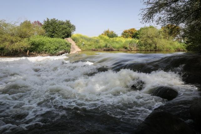 נהר הירדן ביום שני