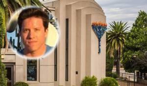 הרוצח על רקע בית הכנסת בו ירה