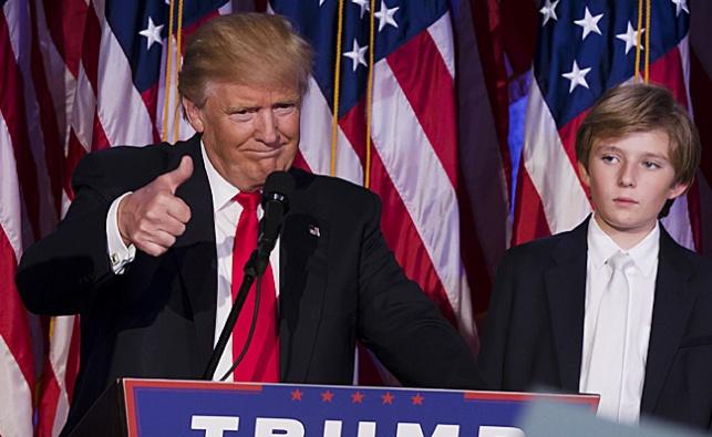 טראמפ לאחר נצחונו