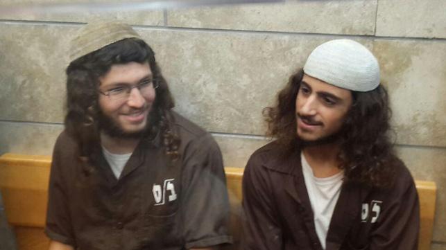 ינון ראובי (מימין) ויהודה אסרף