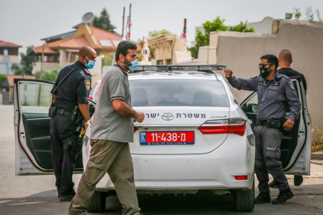 שוטרים בלוד - לפני כשבועיים