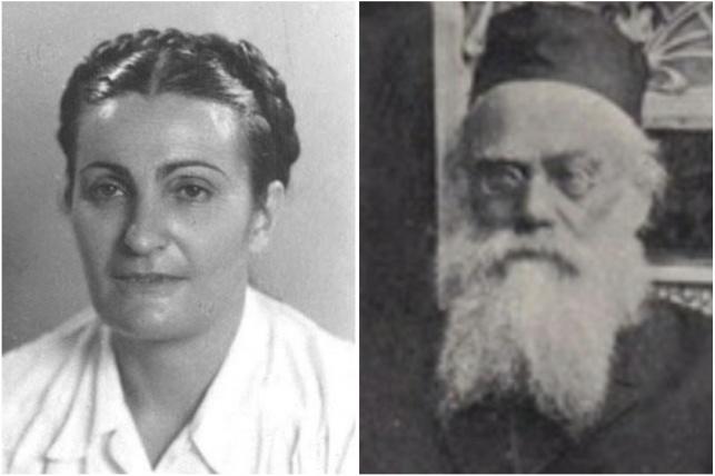 רבי שמעון שקופ והנכדה פייגה