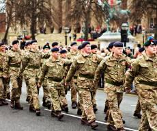 חיילים בריטיים, אילוסטרציה