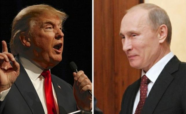 """פוטין וטראמפ, ארכיון - """"האקרים רוסים ניסו לשנות את תוצאות הבחירות"""""""